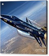 To The Edge Of Space - The X-15 Acrylic Print