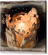 To The Top Of The Porch To The Top Of The Wall  Now Dash Away Dash Away Dash Away All Acrylic Print