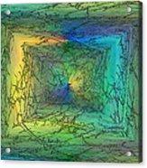 To The Treetops Acrylic Print