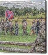 To The Wheatfield And Glory Acrylic Print by Randy Steele