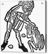 Toadstone, 1491 Acrylic Print