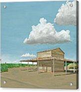Tobacco Barn Acrylic Print