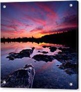 Tobermory Sunset 2 Acrylic Print
