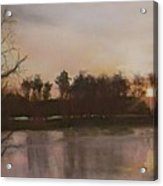 Tobesofkee Sunset Acrylic Print