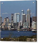 Today In Seattle Acrylic Print