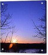 Today's Sunset 03242014 Acrylic Print