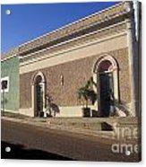 Todos Santos Buildings Mexico Acrylic Print