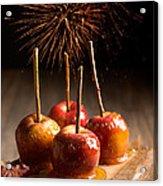 Toffee Apples Group Acrylic Print by Amanda Elwell