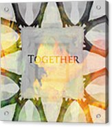 Together 2 Acrylic Print