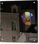 Toilet In Technicolor Acrylic Print by Juli Scalzi