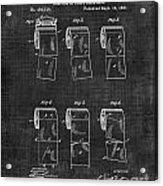 Toilet Paper Patent 040 Acrylic Print
