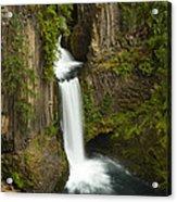 Tokettee Falls 1  Acrylic Print