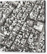 Tokyo City Acrylic Print