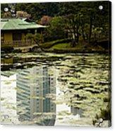 Tokyo Reflection Acrylic Print