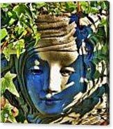 Told In A Garden Acrylic Print by Helen Carson