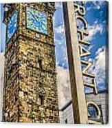 Tollbooth Clock Tower Glasgow Acrylic Print