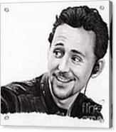 Tom Hiddleston 2 Acrylic Print