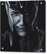 Tom Hiddleston Acrylic Print