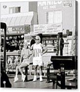 Tom Platz At Venice Beach Acrylic Print