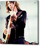 Tom Scholz Of Boston-day On The Green 1 In Oakland Ca 5-6-79 1st Release Acrylic Print by Daniel Larsen
