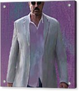 Tom Selleck Acrylic Print