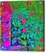 Tom Tiki Acrylic Print
