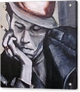 Tom Waits One Acrylic Print