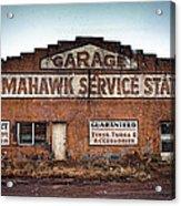 Tomahawk Garage Acrylic Print