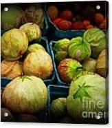 Tomatillos Acrylic Print