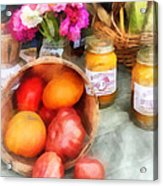 Tomatoes And Peaches Acrylic Print