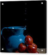 Tomatoes And Pitcher Acrylic Print