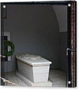 Tomb Georg Washington Acrylic Print