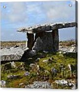 Tomb In Ireland Acrylic Print