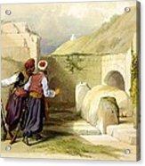 Tomb Of Joseph At Shechem 1839 Acrylic Print