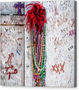 Tomb Of Marie Laveau New Orleans Acrylic Print