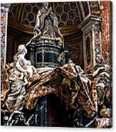 Tomb Of Pope Alexander Vii By Bernini Acrylic Print