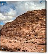 Tombs Of Petra Acrylic Print