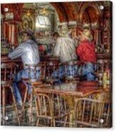 Tombstone Cowboys Acrylic Print