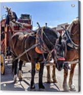 Tombstone Stagecoach 2 Acrylic Print