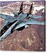 Tomcat Over Iraq Acrylic Print