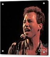 Musician Tommy Tutone Acrylic Print