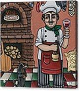 Tommys Italian Kitchen Acrylic Print