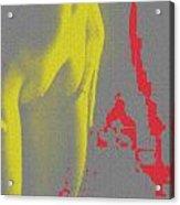 Toned Island Acrylic Print