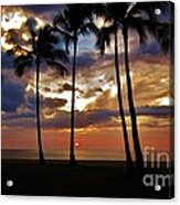 Tonight's Gorgeous Sunset Acrylic Print
