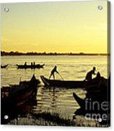 Tonle Sap Sunrise 05 Acrylic Print