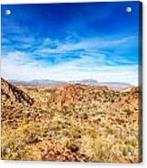 Tonto National Forest Apache Trail Acrylic Print