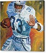 Tony Dorsett - Dallas Cowboys  Acrylic Print