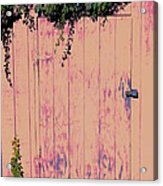 Tool Shed Two Acrylic Print