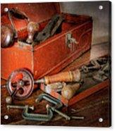 Toolbox 1 Acrylic Print