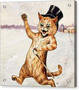 Top Cat Acrylic Print by Louis Wain